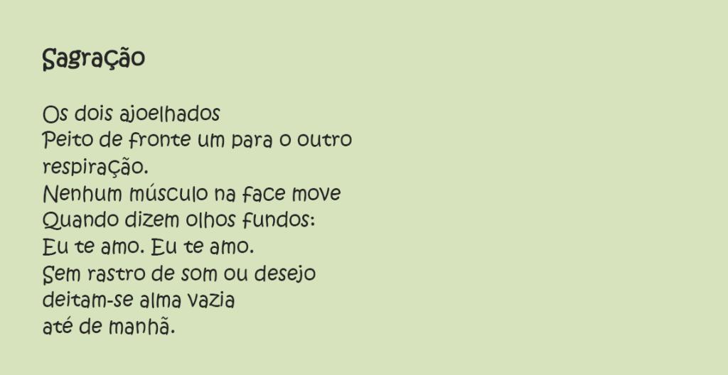 Poesia - Carla Vergara