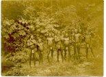 Grupo de índios Kapixaná no Rio Pimenta Bueno.